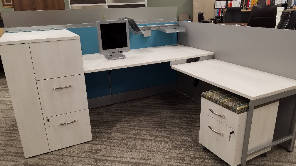 Contemporary Open Workstation – Call for pricing