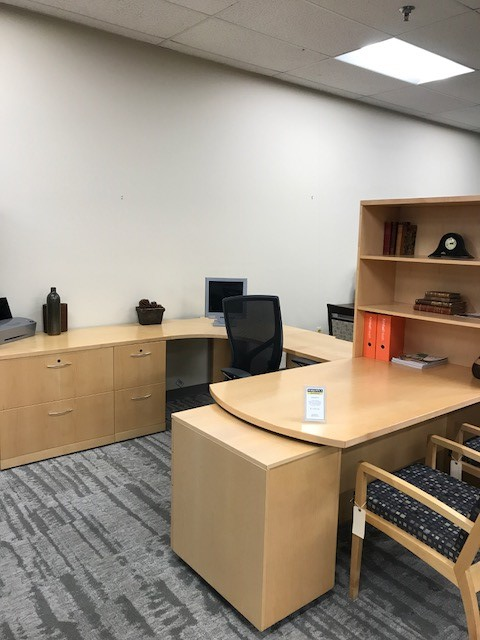 Executive U Group, with Chairs – $1695/set