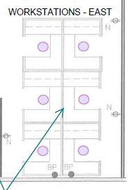 Knoll workstation plan