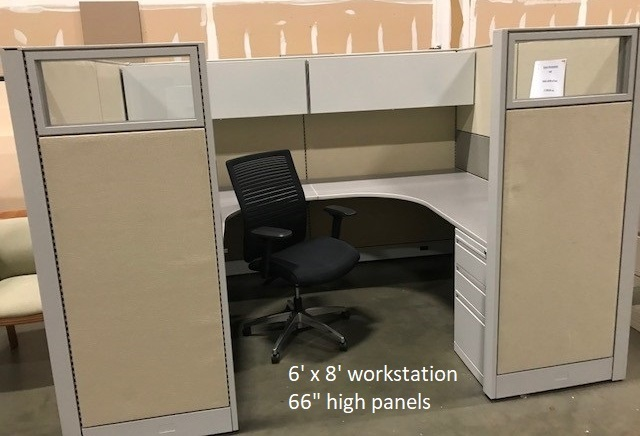 Evolve Used Cubicles