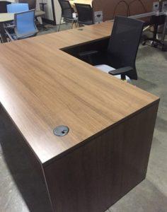 Walnut desk 1