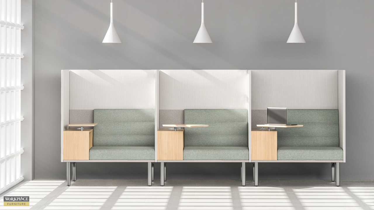 Individual office cubicles