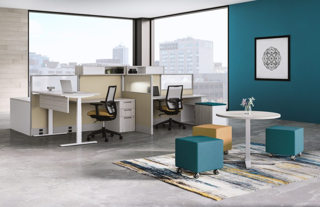 office collaboration space